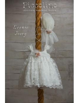 Piccolino Φόρεμα Βάπτισης DR19S19 LEONIE IVORY