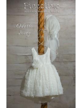 Piccolino Φόρεμα Βάπτισης DR19S21 ODETTE IVORY