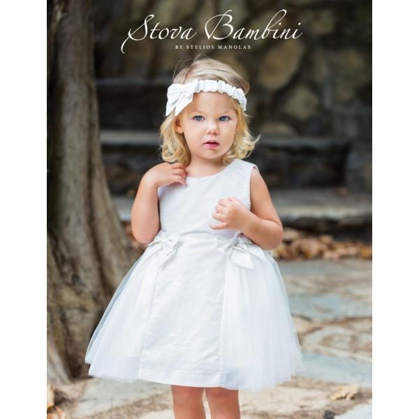 Stova Bambini Φόρεμα Βάπτισης AW18-19 G2