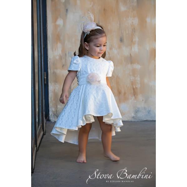 Stova Bambini Φόρεμα Βάπτισης G1