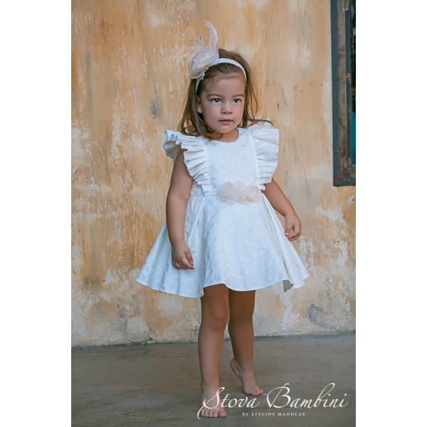 Stova Bambini Φόρεμα Βάπτισης G2