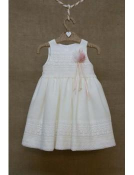 Φόρεμα Βάπτισης Bebe en Rose 66168