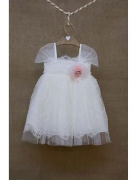 Bebe en Rose Φόρεμα Βάπτισης 72178