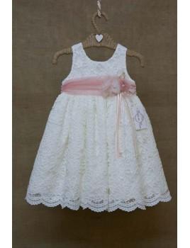Bebe en Rose Φόρεμα Βάπτισης 81250
