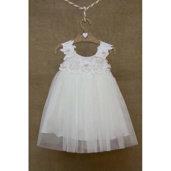 Bebe en Rose Φόρεμα Βάπτισης 81655