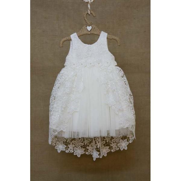 Bebe en Rose Φόρεμα Βάπτισης 82178