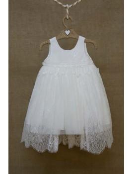 Bebe en Rose Φόρεμα Βάπτισης 82882