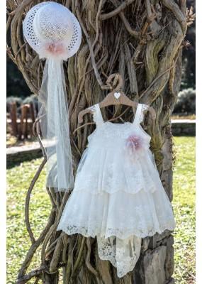 Bebe en Rose Φόρεμα Βάπτισης 644105