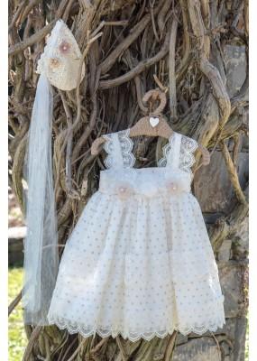 Bebe en Rose Φόρεμα Βάπτισης 95950