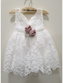 La Christine Φόρεμα Βάπτισης 19K113
