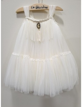 La Christine Φόρεμα Βάπτισης 19K115