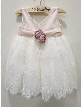 La Christine Φόρεμα Βάπτισης 19K127