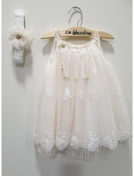 La Christine Φόρεμα Βάπτισης 19K133