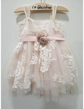 La Christine Φόρεμα Βάπτισης 19K139