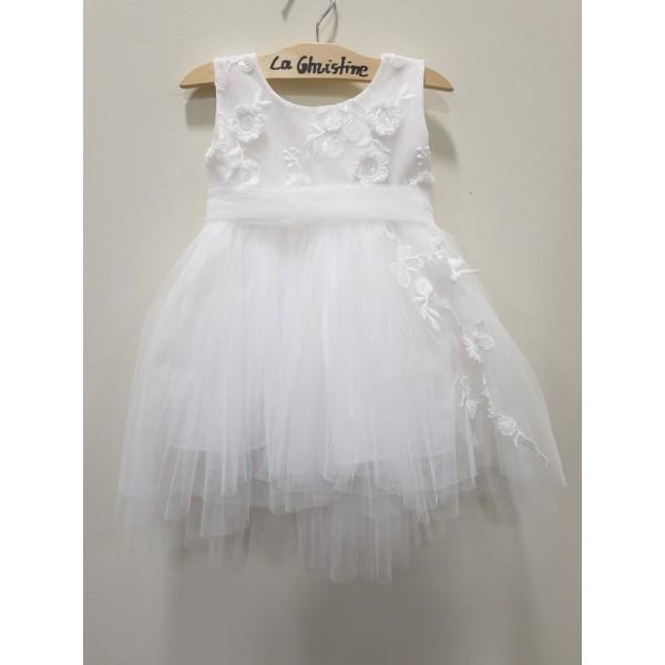 La Christine Φόρεμα Βάπτισης 19K183