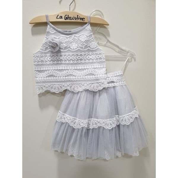 La Christine Φόρεμα Βάπτισης 19K189