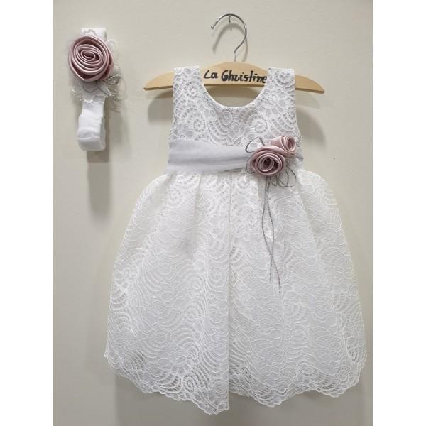 La Christine Φόρεμα Βάπτισης 19K191