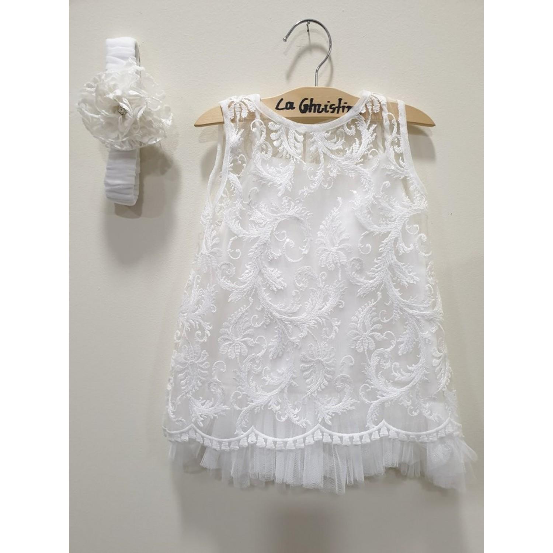 133dd46915ff -10% La Christine Φόρεμα Βάπτισης 19K197