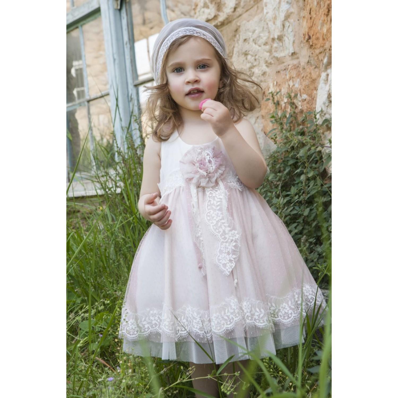 09c607b29006 Φόρεμα Βάπτισης Makis Tselios 2017gts09 - Papillon eShop ...