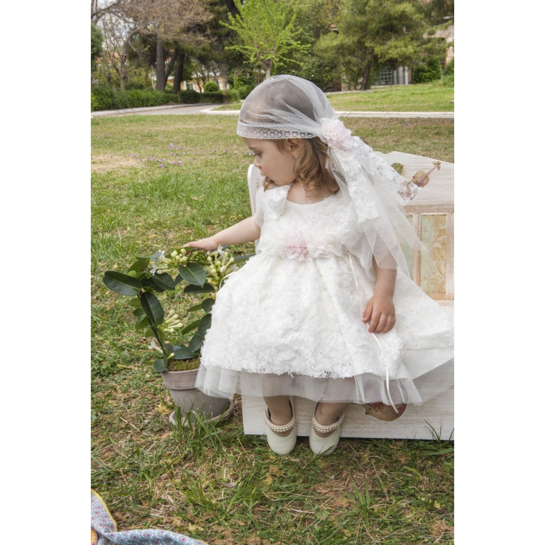 cd55dc36d020 Φόρεμα Βάπτισης Makis Tselios 2017gts13 - Papillon eShop ...