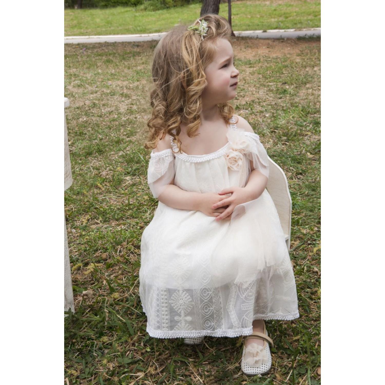 55642140e52 Φόρεμα Βάπτισης Makis Tselios 2017gts14 - Papillon eShop ...