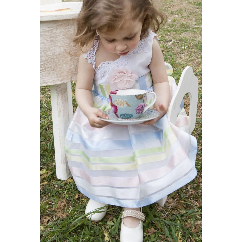 7f61f5932b5 Φόρεμα Βάπτισης Makis Tselios 2017gts15 - Papillon eShop ...