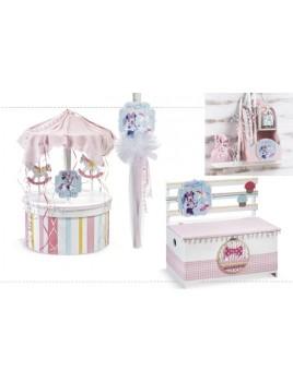 Σετ βάπτισης με Minnie, Carousel