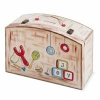 Κουτί βάπτισης Βαλίτσα με Σφεντόνα