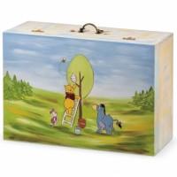Κουτί βάπτισης Disney Βαλίτσα με Winnie