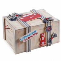 Κουτί βάπτισης Disney Σεντούκι με McQueen κωδ.6263