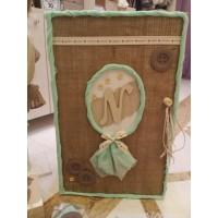 Κουτί βάπτισης Ντουλάπα με Αρχικό κωδ.6186
