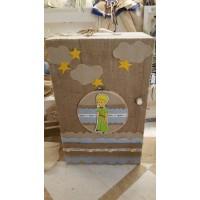 Κουτί Βάπτισης Ντουλάπα με Πρίγκιπας κωδ.7541