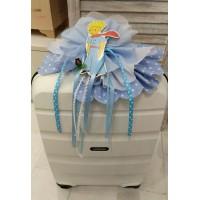 Κουτί Βάπτισης Πλαστική Βαλίτσα με Πρίγκιπας