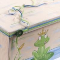 Κουτί βάπτισης Σεντούκι με Βάτραχος