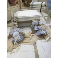 Κουτί Βάπτισης Σεντούκι με Ελέφαντα