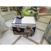 Κουτί Βάπτισης Σεντούκι με Πειρατής κωδ.7507