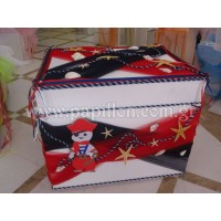 Κουτί Βάπτισης Σεντούκι με Πειρατή