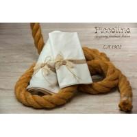 Σετ λαδόπανα βάπτισης Piccolino κωδ.: LA1902