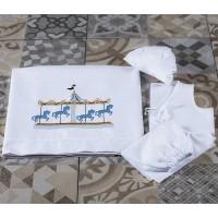 Λαδόπανο Βάπτισης Lina Baby κωδ.: 1360