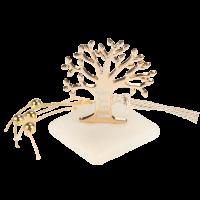 Μπομπονιέρα Βάπτισης Δέντρο της Ζωής Ευχές 61202