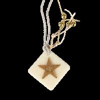 Μπομπονιέρα Βάπτισης Μεταλλικές Δημιουργίες σε Πέτρα Αστέρι 82026