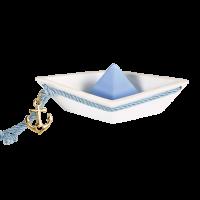 Μπομπονιέρα Βάπτισης Σύγχρονες Δημιουργίες Βάρκα 82101