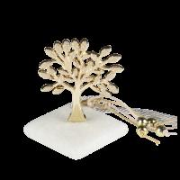 Μπομπονιέρα Βάπτισης Μεταλλικές Δημιουργίες σε Πέτρα Δέντρο Σφυρήλατο 8901