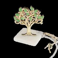 Μπομπονιέρα Βάπτισης Δέντρο της Ζωής Στρασάκια 8928