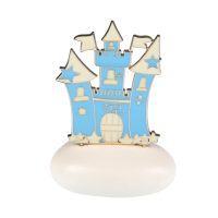 Μπομπονιέρα Βάπτισης Μεταλλικές Δημιουργίες σε Βότσαλο Κάστρο 8944A