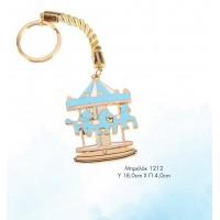 Μπομπονιέρα Βάπτισης Carousel Μπρελόκ 1212