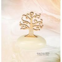 Μπομπονιέρα Βάπτισης Δέντρο Ευχών σε Βότσαλο 82006