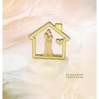 Μπομπονιέρα Βάπτισης Σπίτι Αγάπης 82106