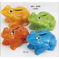 Μπομπονιέρα βάπτισης κουμπαράς βάτραχος  201-9136