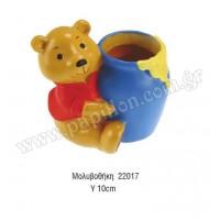 Μπομπονιέρα βάπτισης μολυβοθήκη winnie the pooh  22017